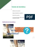 HoyDefinición de Semiótica