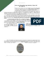 Reminicencias Historicas Logia Salmo 133 Nro 209