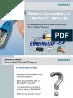 Profinet y Ethernet Ip