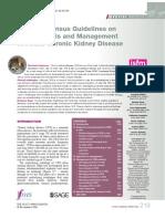 2016 ISFM Guidelines DiagnosisManagementFelineChronicKidneyDisease