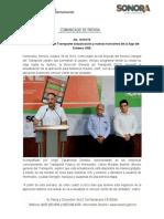 28-10-19 Presenta Dirección del Transporte actualización y nuevas funciones de la App del Sistema UNE