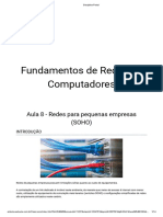 Fundamentos de Redes de Computadores - Aula 8 - Redes Para Pequenas Empresas