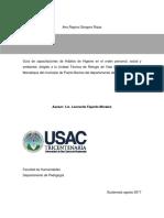 Hábitos de Higiene en El Orden Personal, Social y Ambiental Punta Manabique