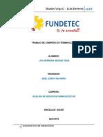 Trabajo Fundetec Compendio Terminologia