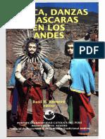 Libro - Musica danza y mascaras en los Andes
