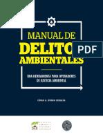 Manual de Delitos Ambientales