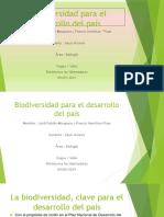 Biodiversidad Para El Desarrollo Del País