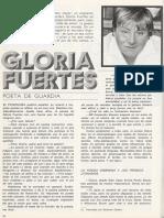Gloria Fuertes, Poeta de Guardia (entrevista)