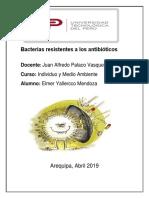 Bacterias Resistentes a Los Antibióticos-1