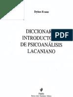 DiccionarioLacan DylanEvans Text