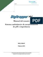 Manual Digitrapper PH-Z ES Actualizado Mantenimiento