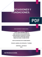 Asociasiones y Fundaciones