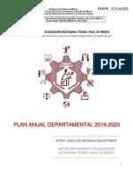 Plan Anual Destvm 2019-2020