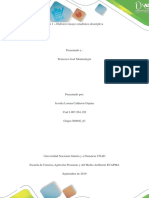 Fase 1 – Elaborar Ensayo Estadístico Descriptiva_jessika Calderon