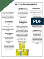 Evidencia Aa1 Folleto Sobre El Sistema General de Seguridad Social en Colombia