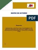Mapeo de Actores Chanchamayo (1)