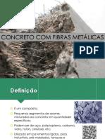 Concreto Com Fibras Metálicas
