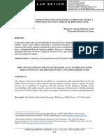 Conciliação nas demandas envolvendo o Poder Público
