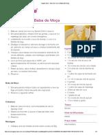 Tupperware - Bolo de Coco e Baba de Moça