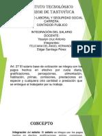 1.4 Integracion Del Salario