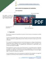 Programación Control de Temperatura de Incubadora
