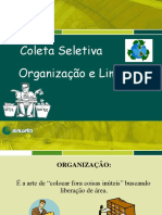 Treinamento - Coleta Seletiva e Organização e Limpeza