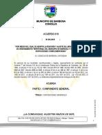 Acuerdo 016 de 2015