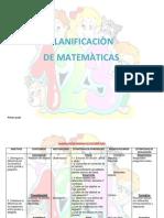 Matematicas Plan