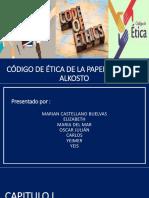 codigo etico