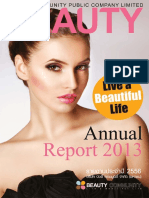 Beauty Annual Report
