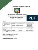 INFORME - CONSTANTES FÍSICAS