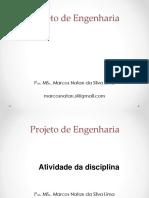 Projeto de Engenhaeia Aula 02.2