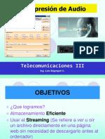 Curso Telecom III - 2018 Compresion-De-Audio