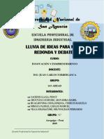 LLUVIA de IDEAS-Emprendedurismo, Formalidad e Informalidad, Historia Del Desarrollo de La Tecnología y Postura Frente a Esta-Go Ahead