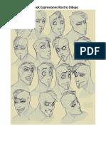 ArtBook Expresiones Rostro Dibujo