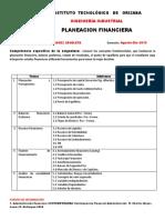 Planeacion Financiera a-d 2019