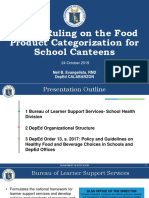 DepEd Ruling on the Food Product Categorization for School5091825322474533961