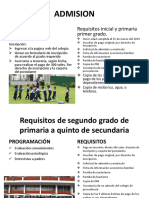 ADMISION claretiano.pptx