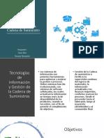 Sistemas de Información y Medidas de Desempeño de la Cadena de Suministro