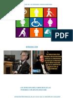Presentación Personas Con Discapacidad.