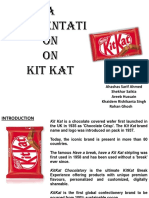 A Presentation on Kit Kat