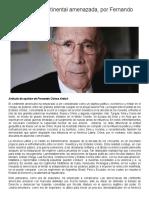 #Opinión _ La Seguridad Continental Amenazada, Por Fernando Ochoa Antich