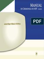 Manual Cerimonial