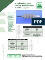 PDF%5CAisladores Polimericos Para Lineas Aeres de Media Tension ISOELECTRIC