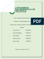Informe Proyecto Final de a. Financiera I