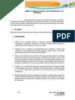 Evidencia 9 Procedimiento Operativo Para Flujo de Materiales y de Personal (1)
