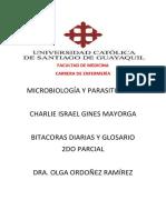 Bitacoras Microbiologia 2do Parcial