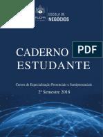 Caderno Do Estudante 2 2018