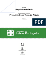 Linguistica de Texto Impresso