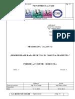 programul calitatii